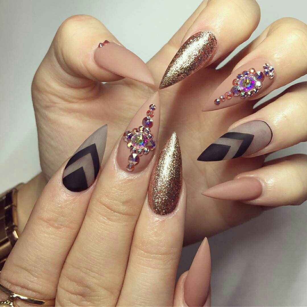 Pin by Whitney W on Nails Nails Nails   Pinterest   Matte nails and ...