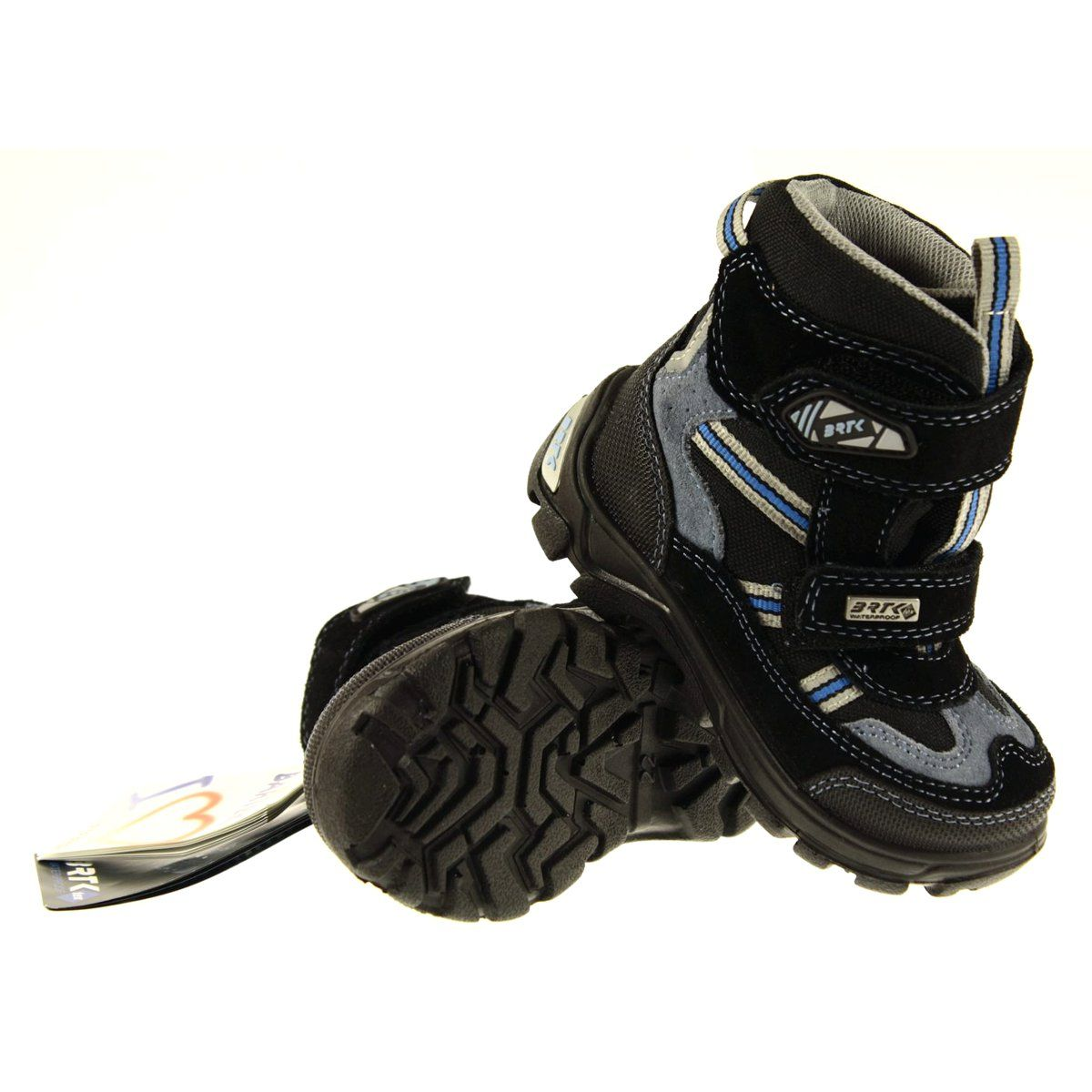 Trzewiki Chlopiece Z Membrana Bartek 31931 Szare Niebieskie Czarne Boots Winter Boot Shoes