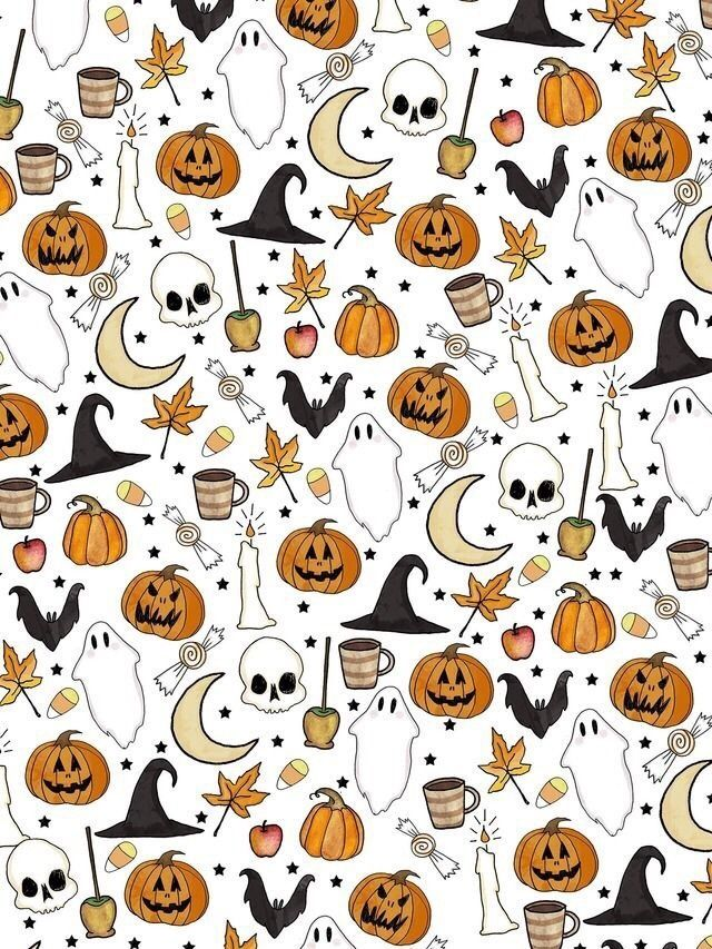 Ghostly Lullaby Fall Wallpaper Iphone Wallpaper Fall Halloween Wallpaper Iphone