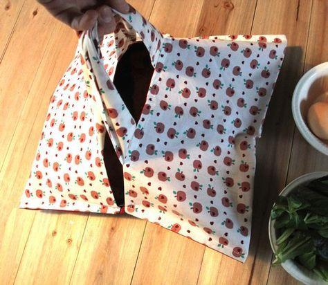 Tutoriel: Le sac à tarte – je le fais moi-même   – new sewing