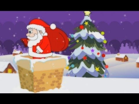 """"""" Up On The Housetop,"""" an animated Christmas song for kids. [pinned by PartyTalen… 