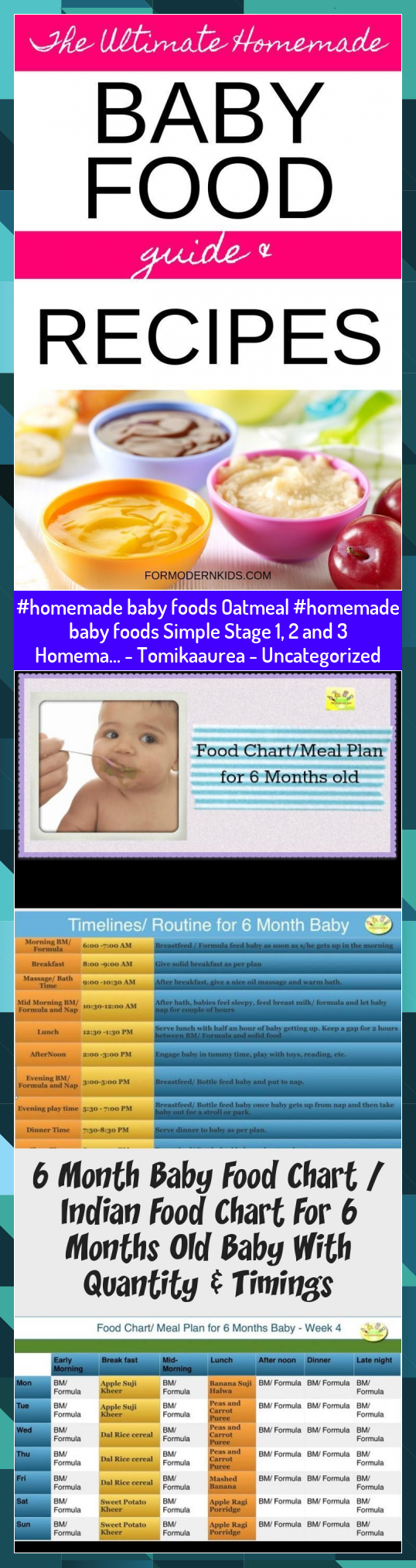 baby foods Oatmeal baby foods Simple Stage 1 2 and 3 Homema  Tomikaaurea  Uncategorized