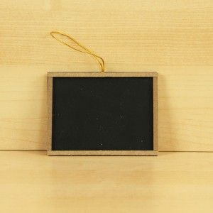 "Darice Craft // Frame Chalk Board   3"" x 4"" - $0.79"