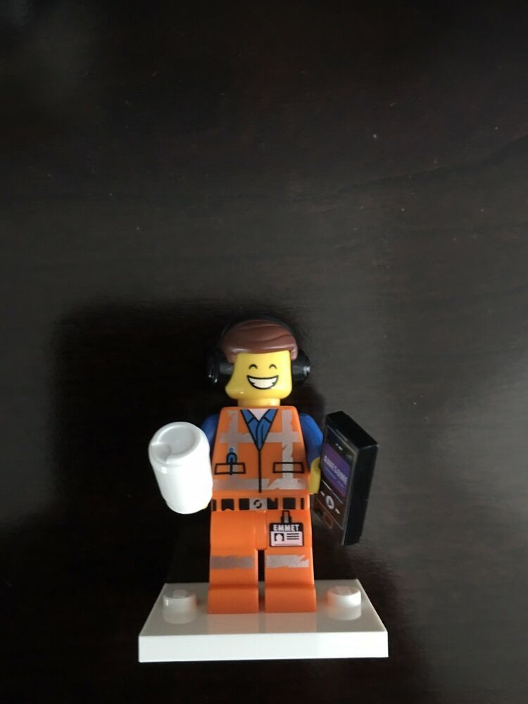 Lego Movie 2 Series Awesome Remix Emmet Minifigure