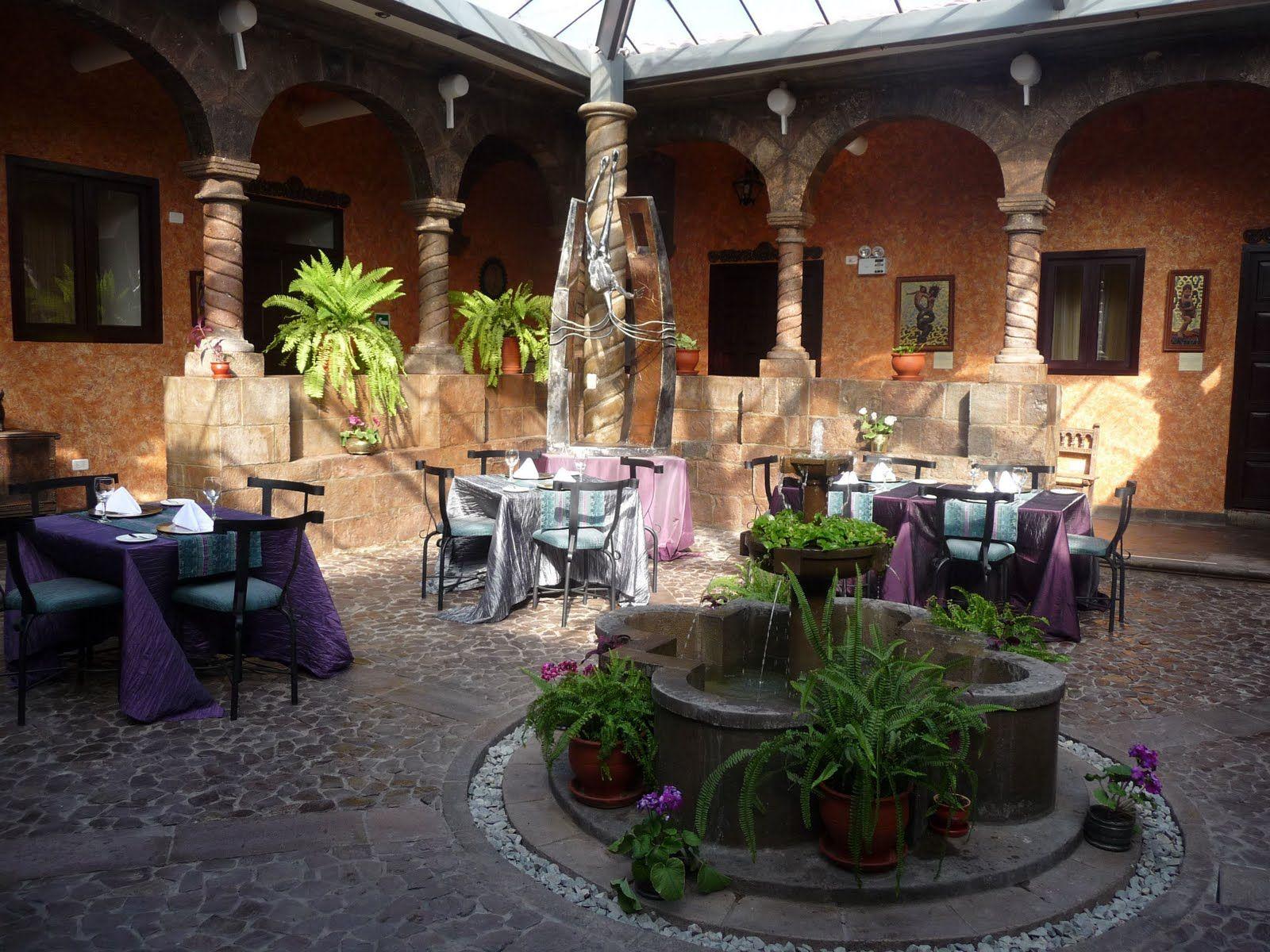 Patio Coloniales Google Search Dise 241 O De Interiores