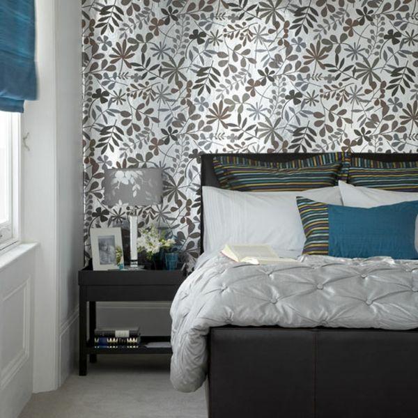 moderne Vinyl Tapeten Schlafzimmer Renovieren Pinterest - moderne tapeten schlafzimmer