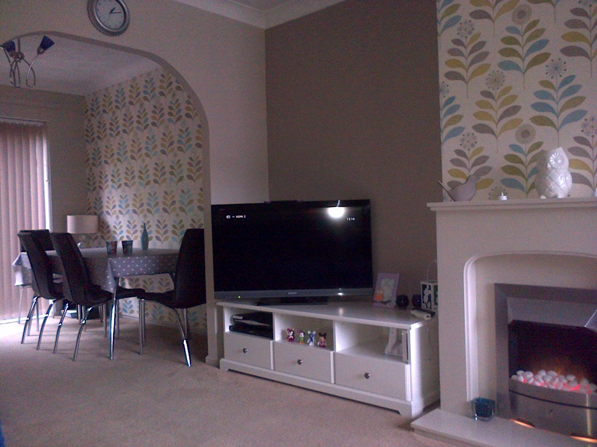 Wallpaper Ideas For Living Room With Dado Rail