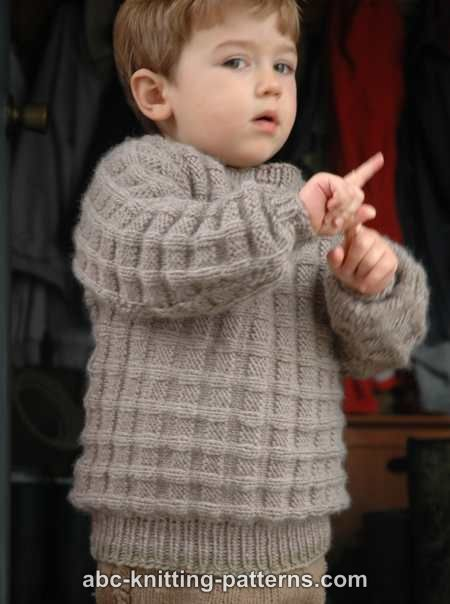 Free Child Sweater Knitting Pattern Baby Pinterest Knitting