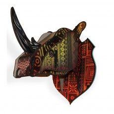 Cabeza Decorativa Rhino Style