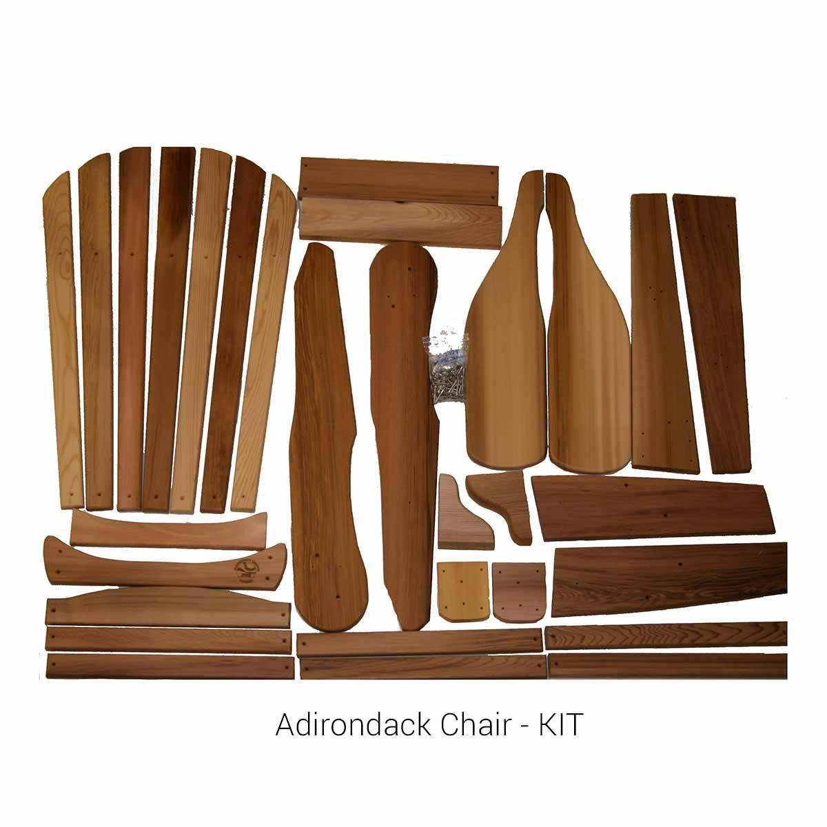Adirondack Chair Kit Versus Knock Down Sillas Adirondack