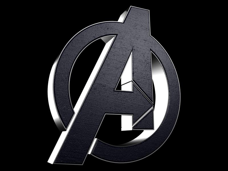nice avengers symbol wallpaper hd Avengers Logo Wallpaper