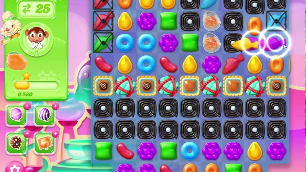 Candy Crush Jelly Saga Level 282 Collect Monklings Candy
