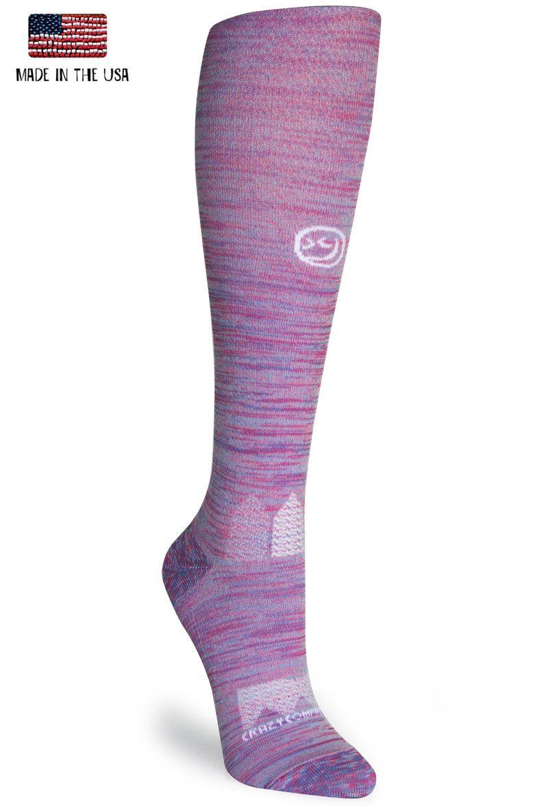76d7583884 Pink & Purple Twist OTC - Compression Socks   I pine, I yearn   Pink ...