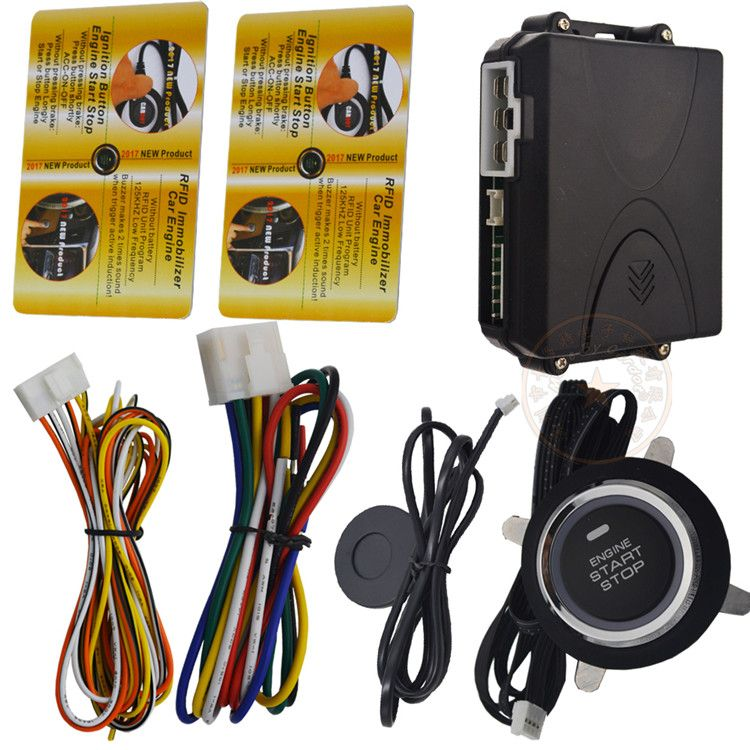 cardot Engine start stop engine push button with immobilizer RFID