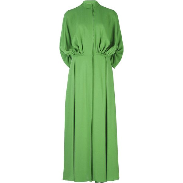 Green Mid Calf Dress