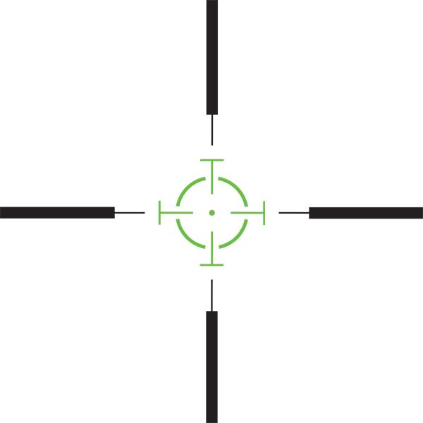 Shepherd Scopes Rogue Series Scope Illuminated Reticle (Options