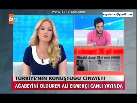 Müge Anlıda Türkiyenin Konuştuğu Cinayeti itiraf etti  | 10 Mayıs 2016