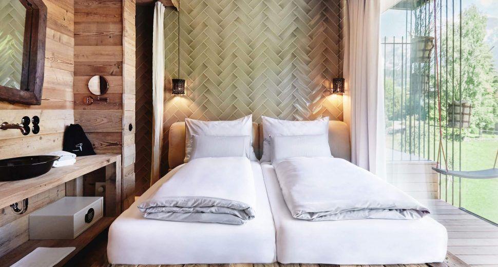 rustic bedroom ideas hotel austria  schlafzimmer
