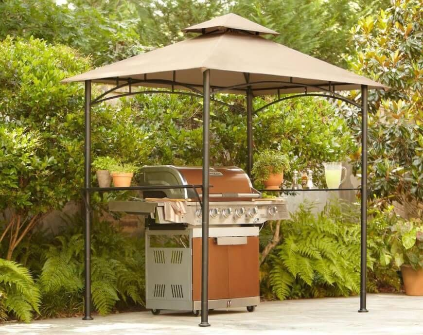 30 Grill Gazebo Ideas To Fire Up Your Summer Barbecues