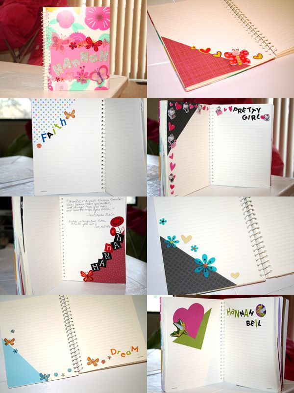 Make An Inspiration Book  Special DIY gift for friend's kids, for nieces, nephews, your own kids!