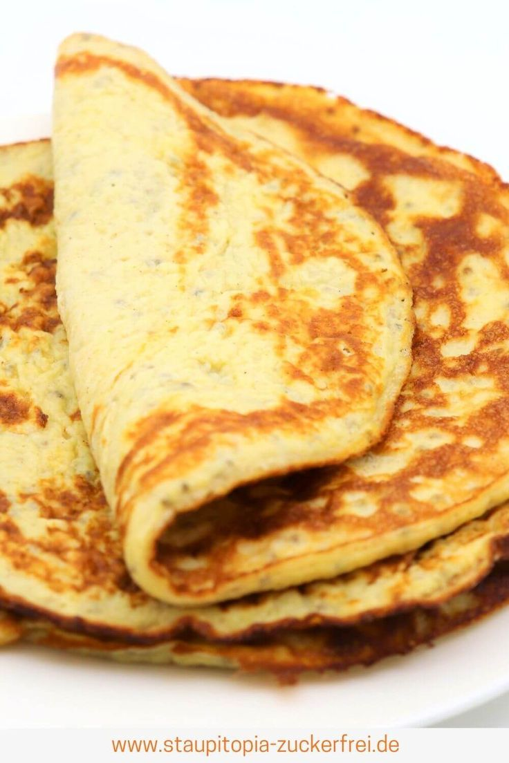 Photo of Low carb pancakes without flour