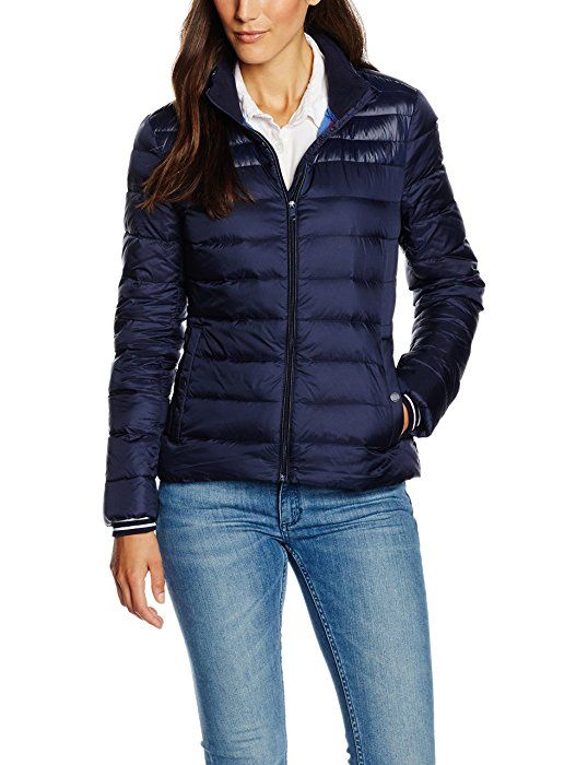the best attitude 42169 242ec Tommy Hilfiger Damen Jacke Ino LW Down Jkt, Blau (Navy ...
