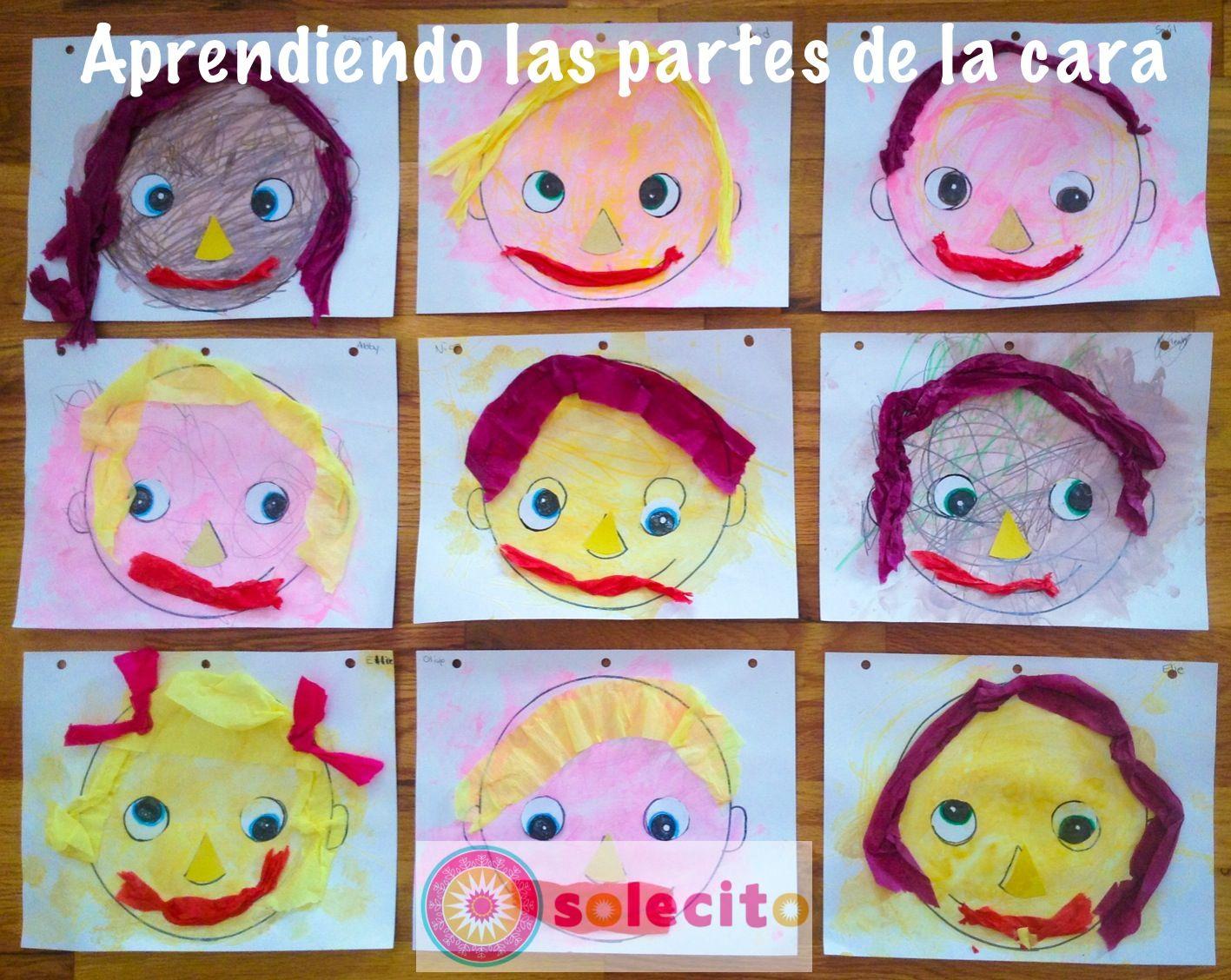 Parts Of The Face Las Partes De La Cara Lecitoschool