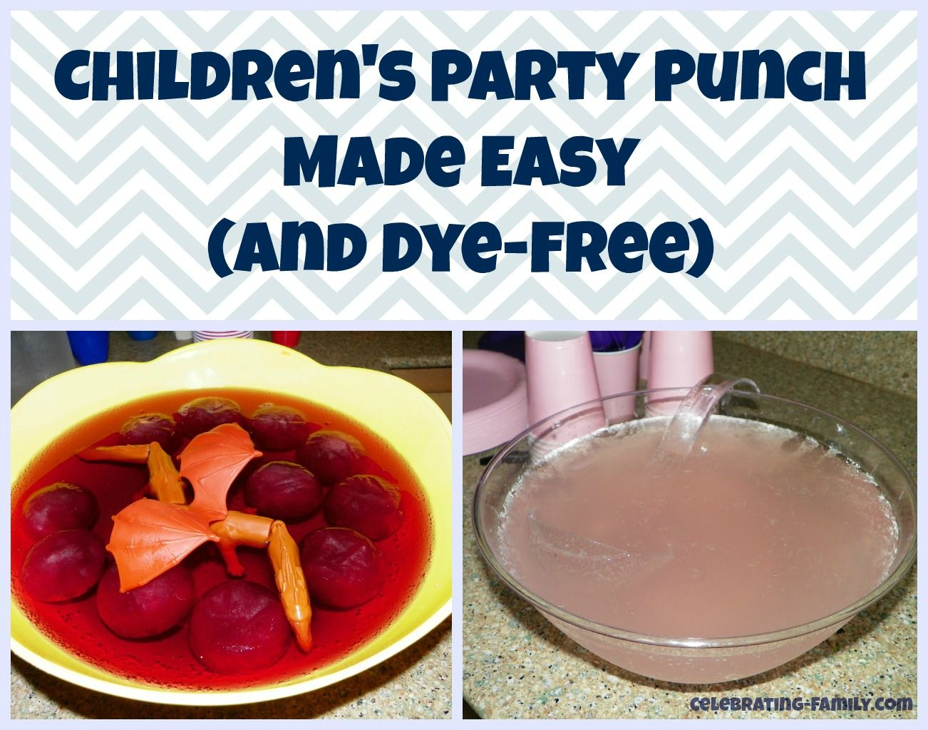 Dye free party punch recipes for kids (and grown-ups!)