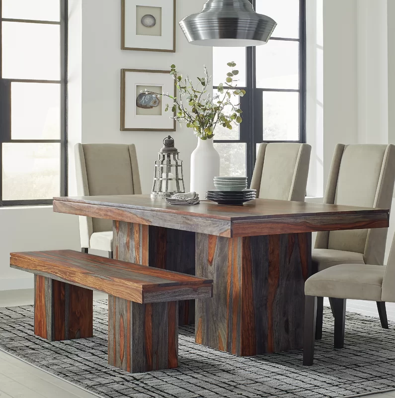 Foundry Select Germantown Solid Wood Dining Table Wayfair In 2020 Dining Table In Kitchen Solid Wood Dining Table Bar Height Dining Table