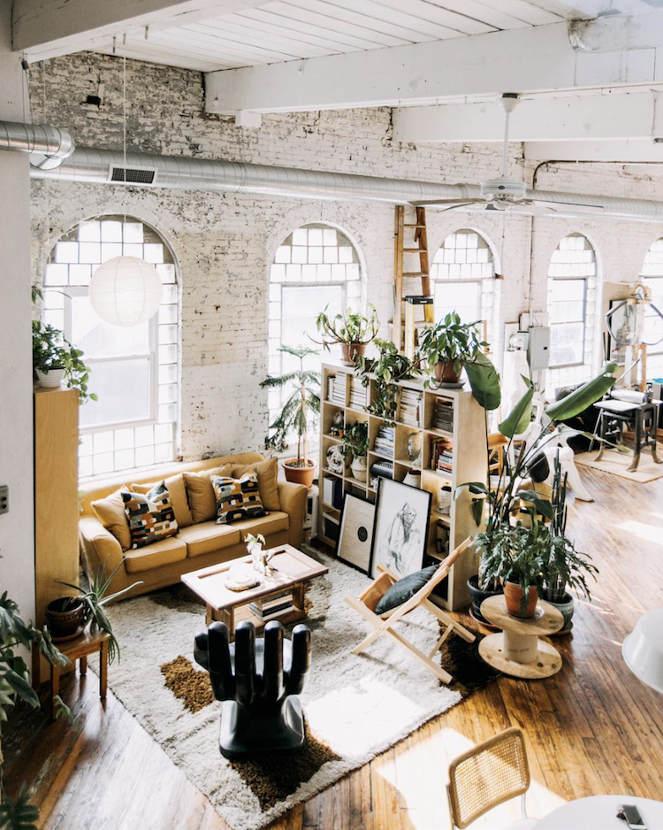 My Scandinavian Home A Fabulous Vintage Inspired Loft In A Former
