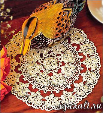Deckchen häkeln Blume - wunderschön   Häkeln   Pinterest   Deckchen ...