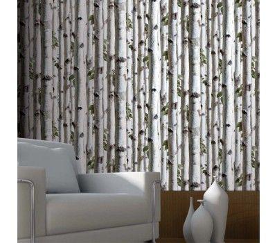 papier peint for t de bouleaux koziel designer christophe koziel koziel papiers peints. Black Bedroom Furniture Sets. Home Design Ideas