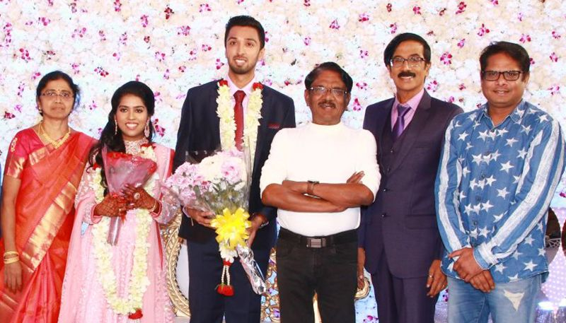 Actor & Director Mano Bala Son Harish – Priya Wedding Reception