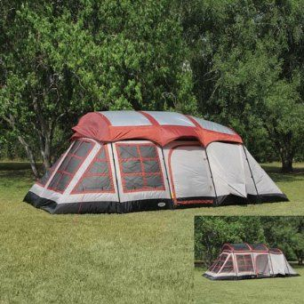 SOLAR POWERED TENT With Electric Access Port! Amazon.com: Big Horn 3