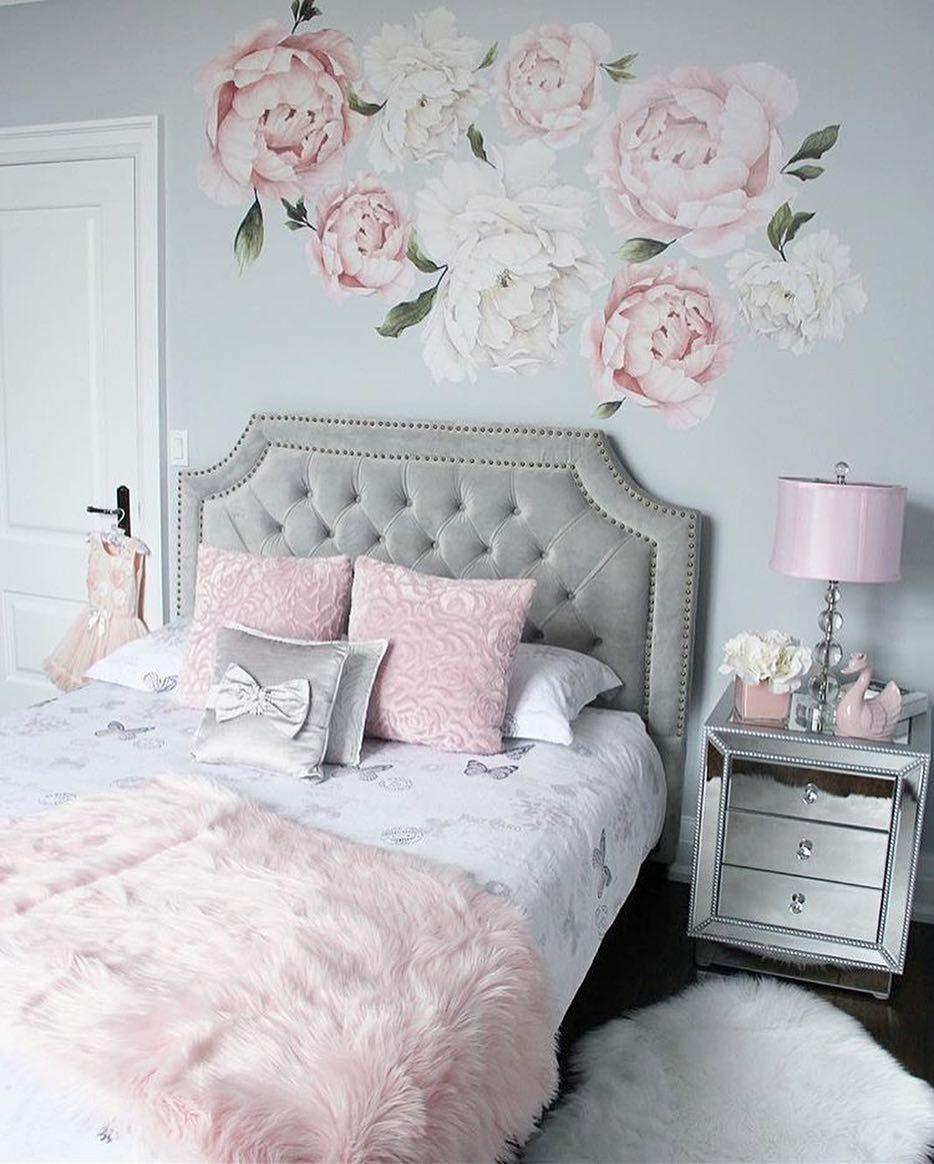 Girly vintage zimmer dekor pin by jadyn ard on bedroom  pinterest  bedrooms room and room decor