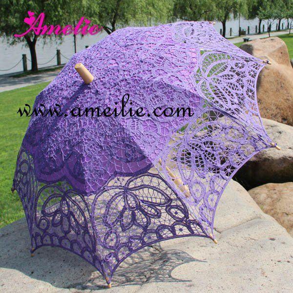 lovely purple parasol