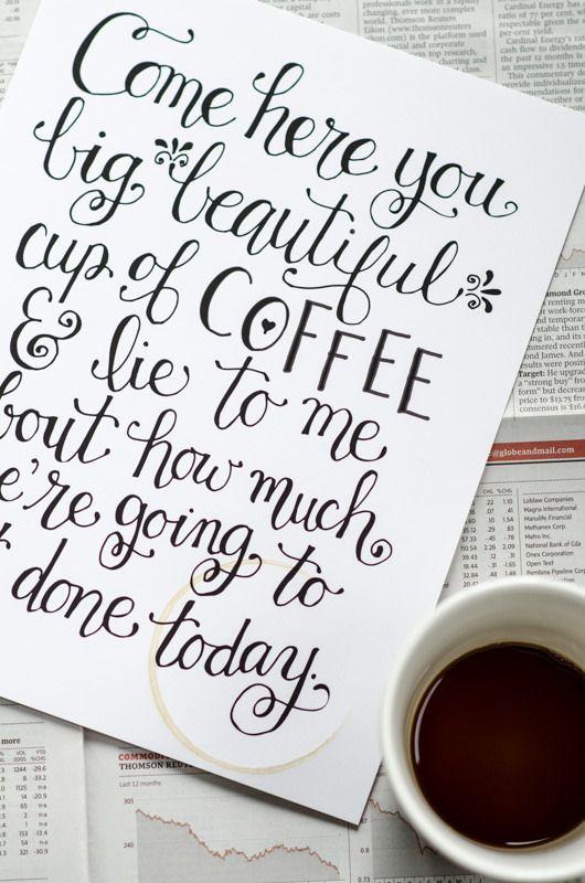 Using A Free Printable To Make Coffee Station Art Diy Snack Station Snack Station Coffee Station