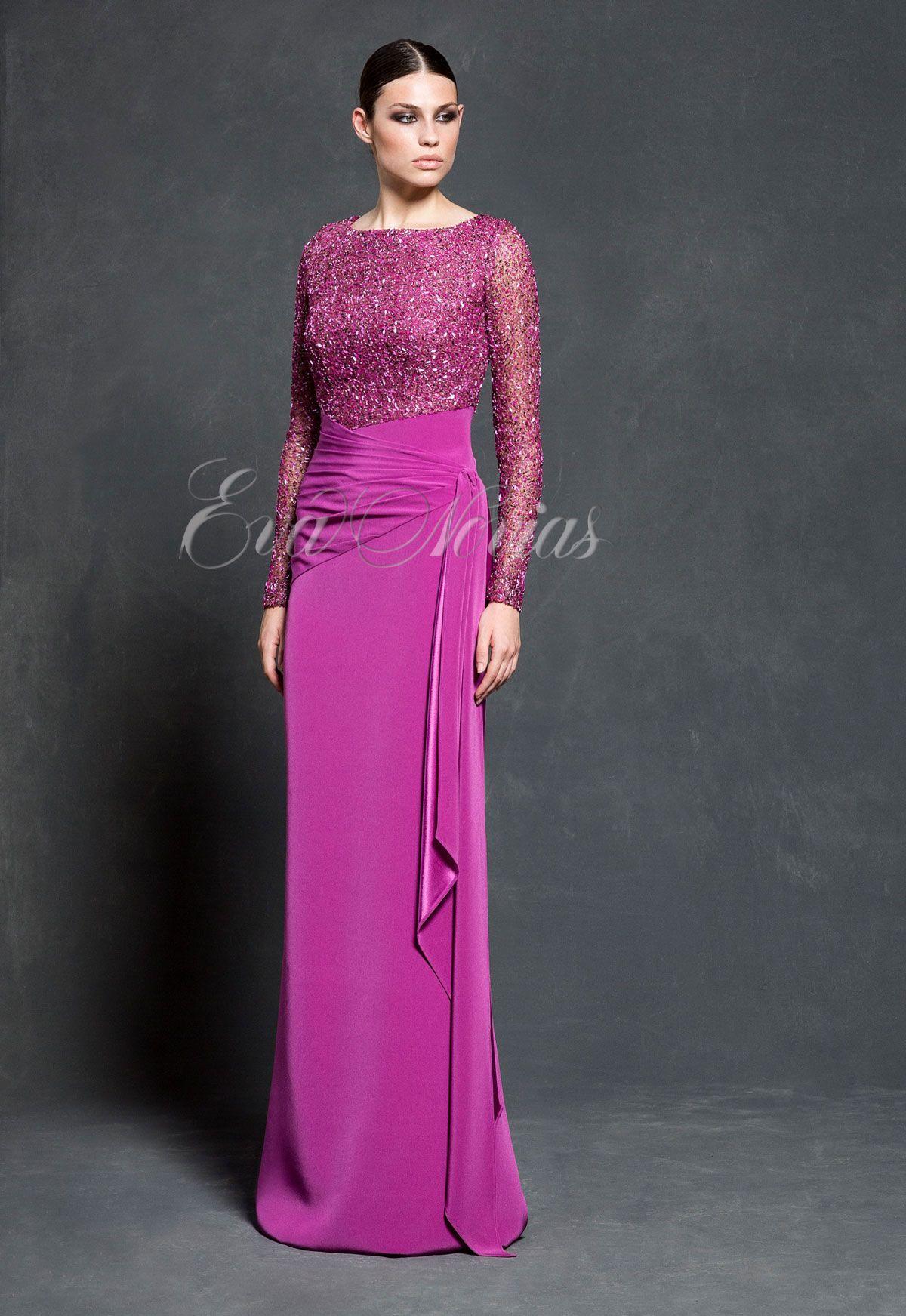 Vestido de fiesta de Vicky Martín Berrocal colección 2016 modelo 401 ...