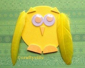 owl art... fun!
