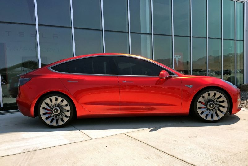#Tesla shares rev up as #Model_3 deliveries to start in July.