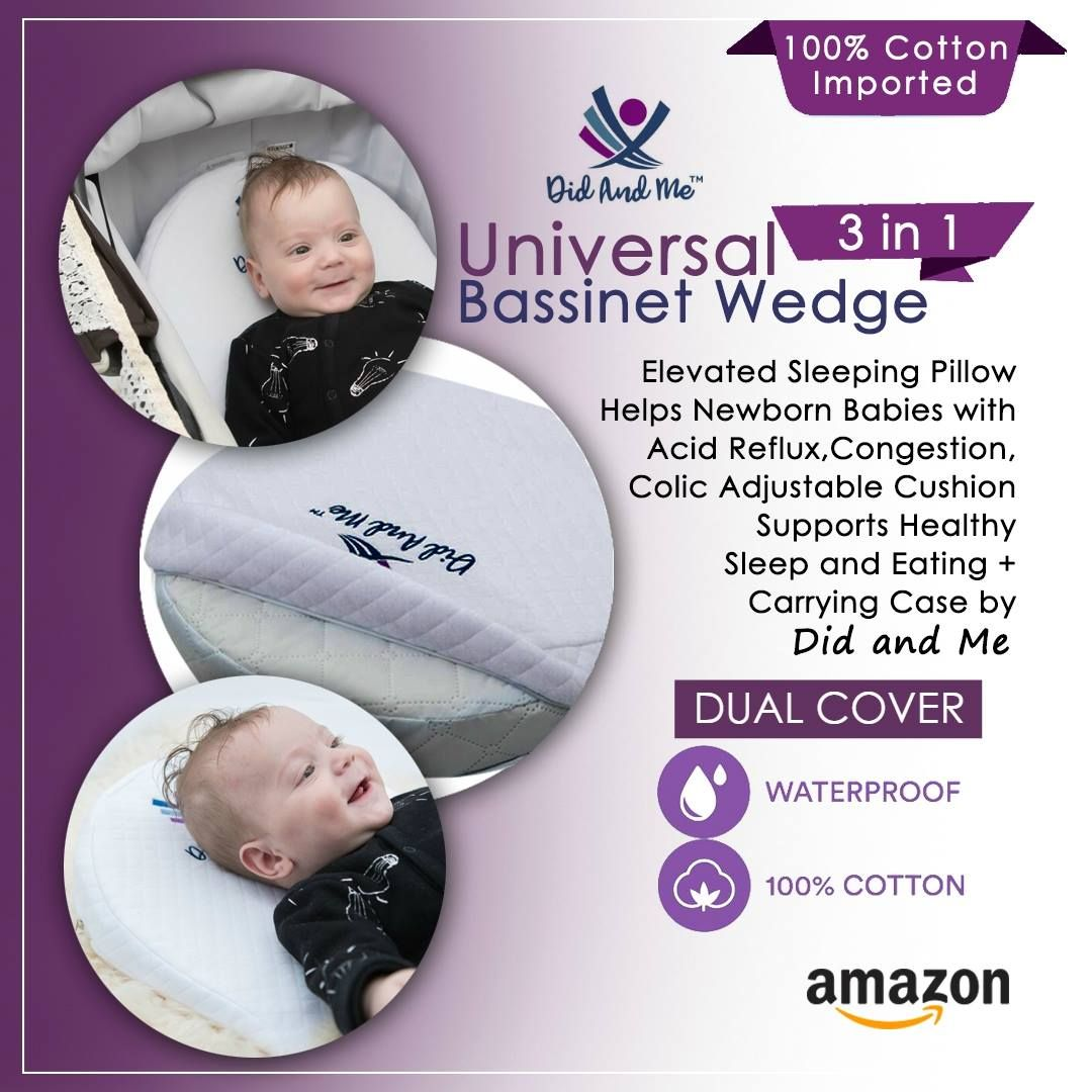 pin on 3 in 1 universal bassinet wedge