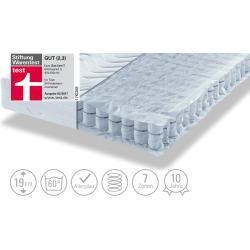 Photo of Barrel pocket spring mattress – white – 180 cm – 19 cm – bedroom furniture> mattresses and slatted frames