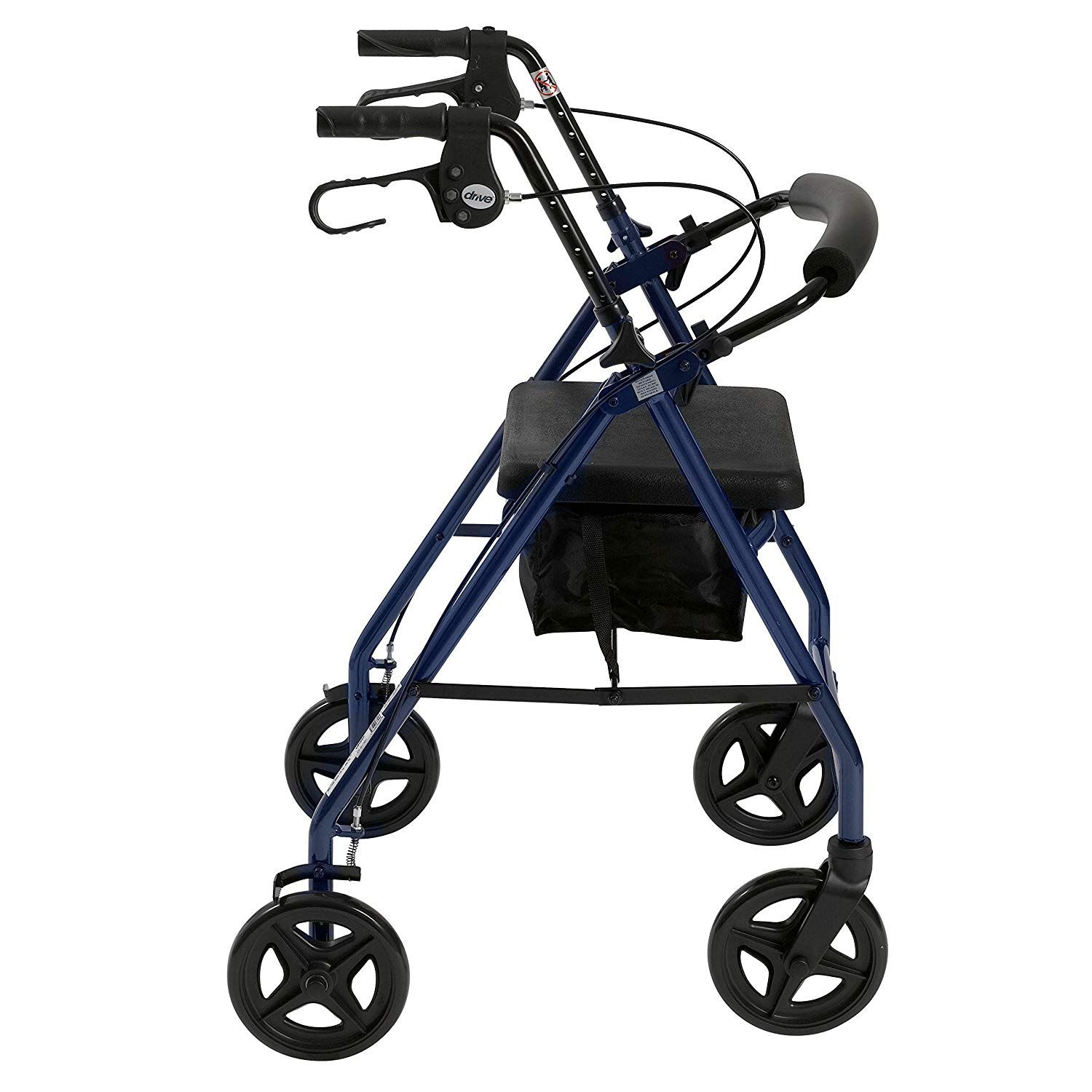 Drive Medical Aluminum Rollator Fold Up and