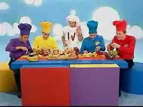 The Wiggles singing a Real Favorite..Fruit Salad! The