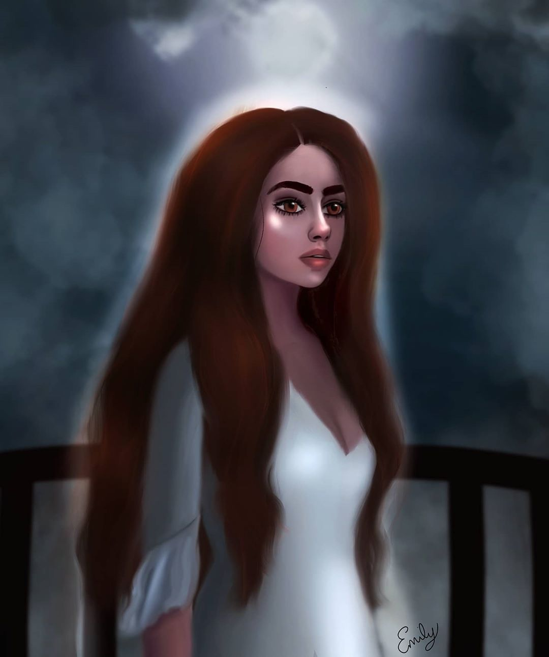 "🌼Emily Ann🌼 on Instagram: ""~Ailesse~ I read Bone Criers Moon this past  week. So good. Highly recommend. This is just some fan art of the main  character.… em 2020 