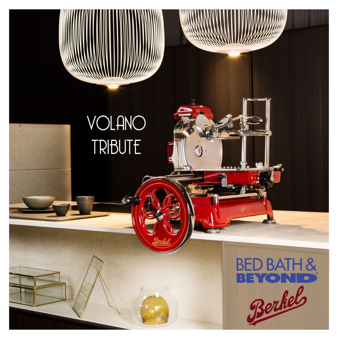 Berkel Volano Tribute Flywheel Slicer In Red In 2020 Colorful Decor House Design Bed Bath And Beyond
