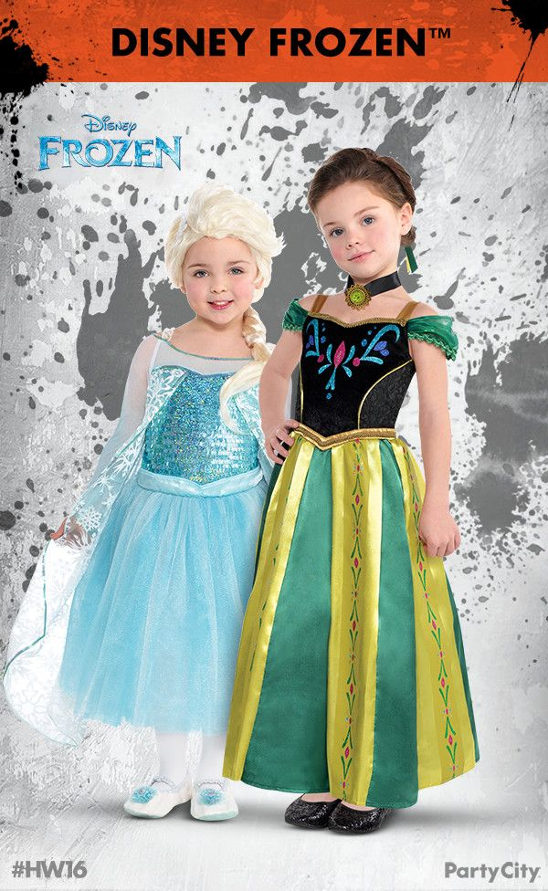 Get your Disney Frozen costumes for the whole family from