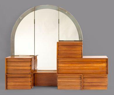 Rudolph Schindler bedroom dresser