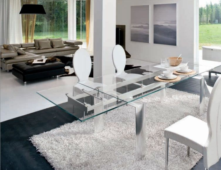 Clean modern design straight form Italy. Simply beautiful.