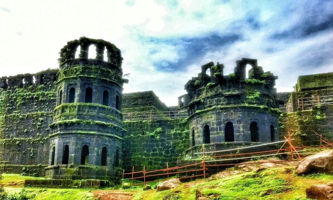 Pin by appa jadhav on Raigad Fort | Raigad fort, Art